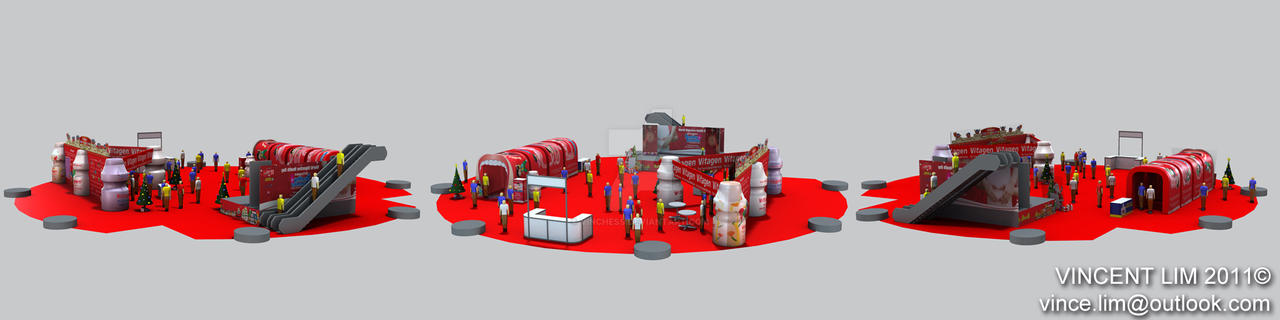 Vitagen Booth 3 (freelance) by vinchess