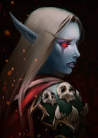 Sylvanas Windrunner by Amionna
