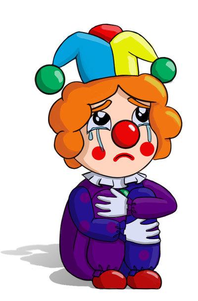 foto de One Sad Little Clown by Sarah designs on DeviantArt