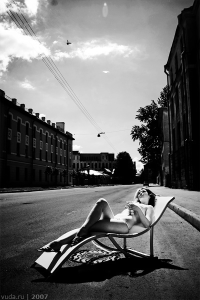 Sunbath.
