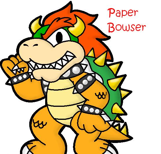 Paper mario bowser jr