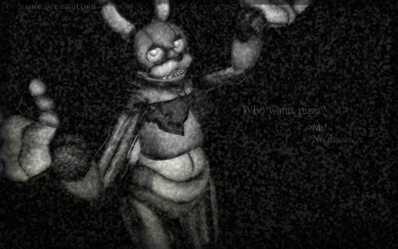 Five Nights At Freddy S Bonnie Wallpaper By Life Source On Deviantart