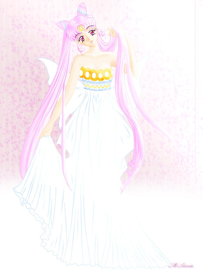 Princess Chibi Serenity by kireinamegami