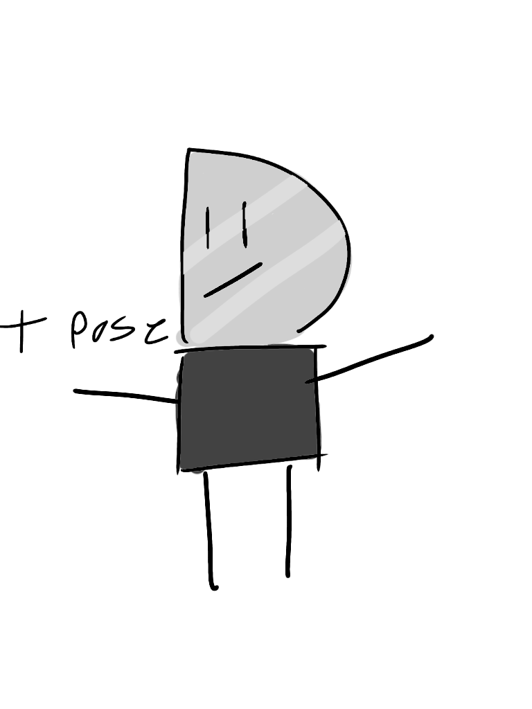 It be T pose tuesday my dudes by LIVdrawsstuff on DeviantArt