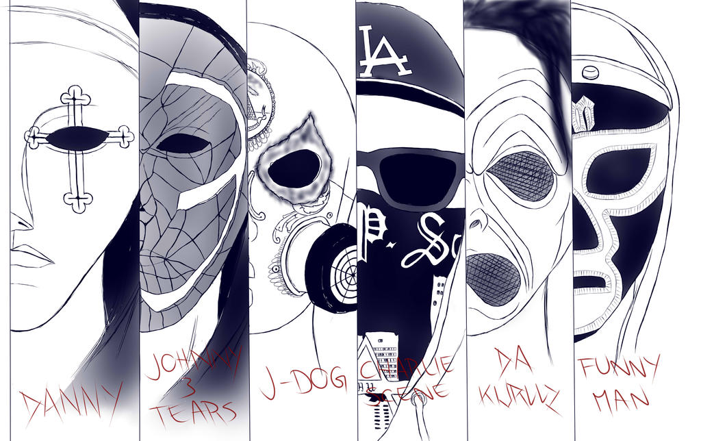 Hollywood Undead Masks By Linzi92