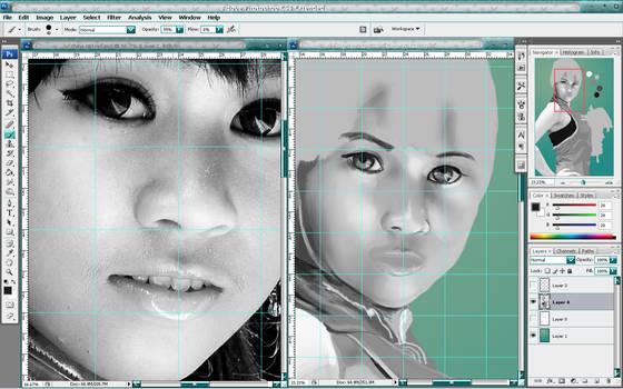 China Girl WIP 1