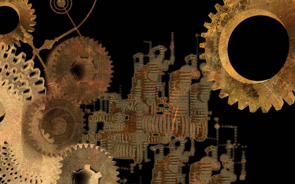 Steampunk Wallpaper 3