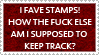 I Fave Stamps to Keep Track by kingjules71