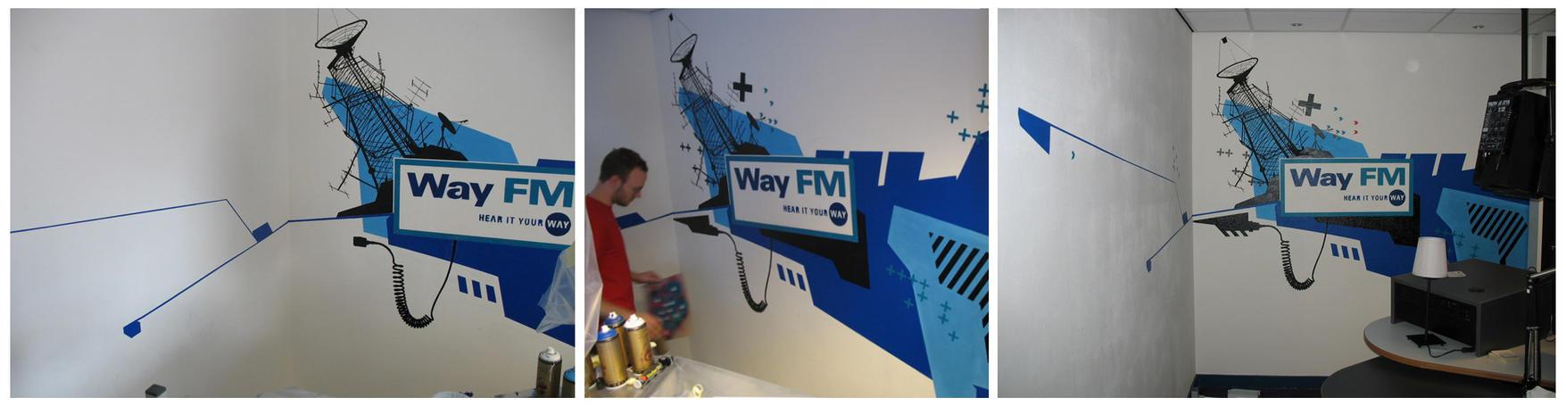 way fm mural by patswerk