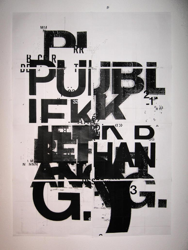 Poster design deviantart - Public Space Poster 2 By Patswerk