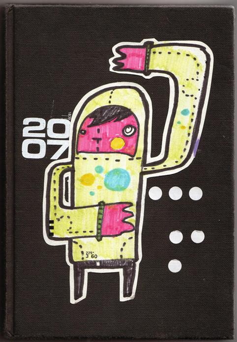 sketchbook cover by patswerk