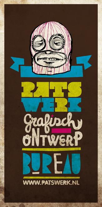 Luchadoro el Patswerk Flyer by patswerk