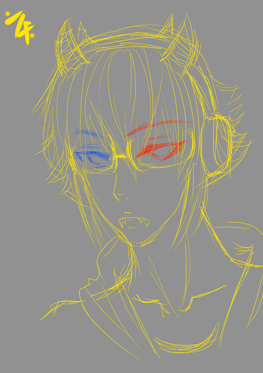 sollux sketch by PocketPrism