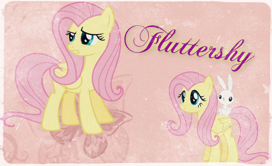 ~ Fluttershy Wallpaper (: ~ by Angelicsweetheart