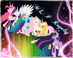 ~ My Little Pony, Main Six Royalty ~