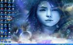 Yuna and Tidus Desktop