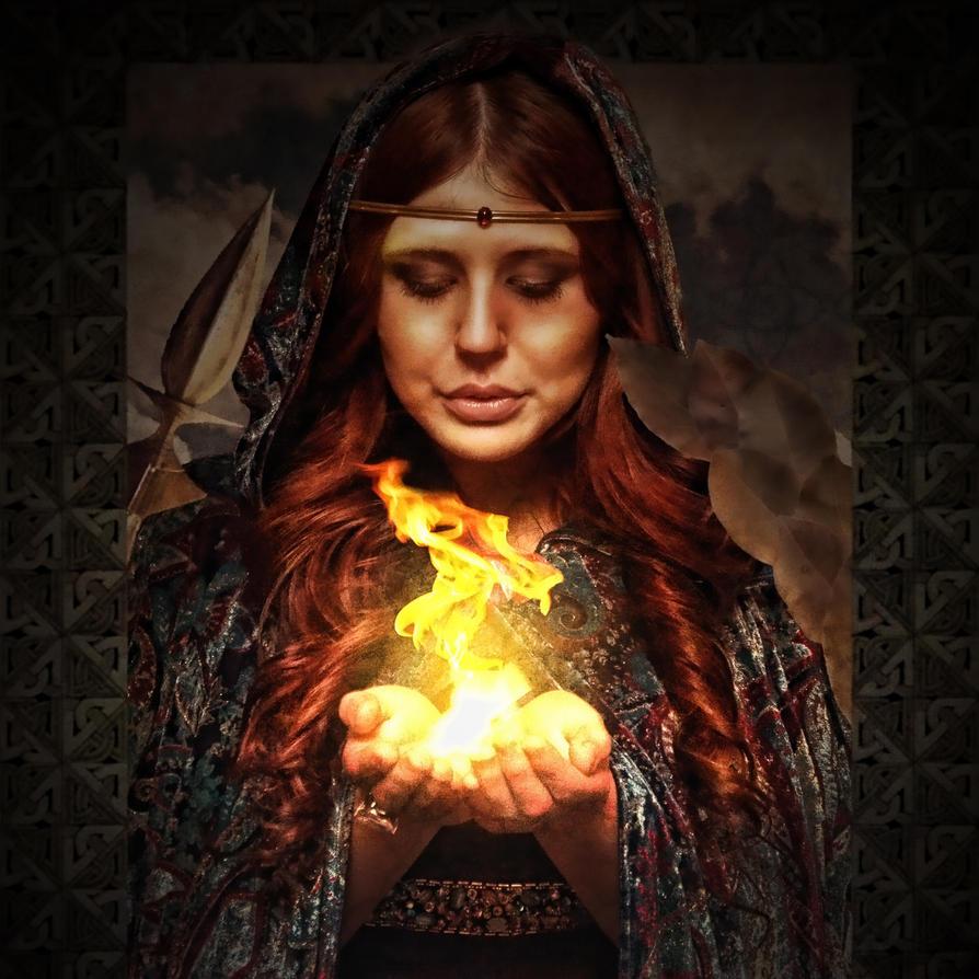 Pagan Goddess: Brigid by alter-eye