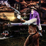Steampunk Violet...