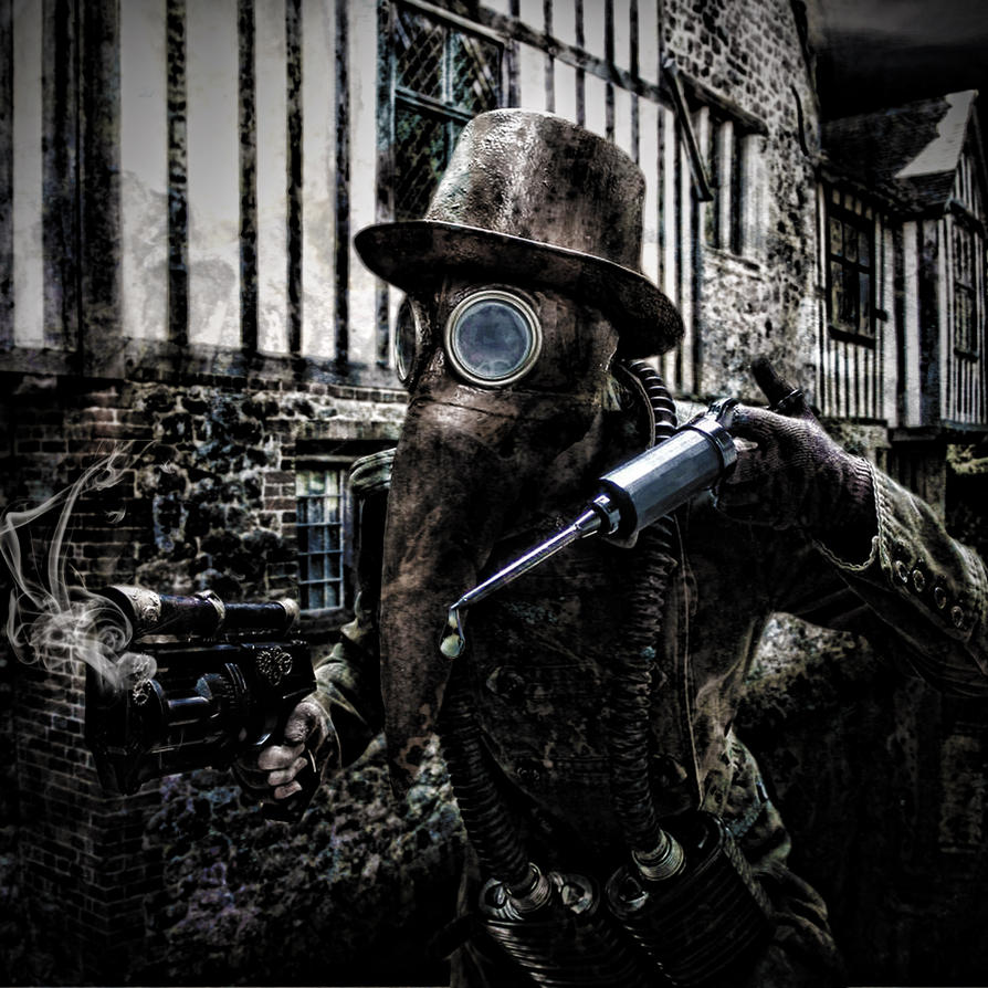 Plague Doctor by alter-eye