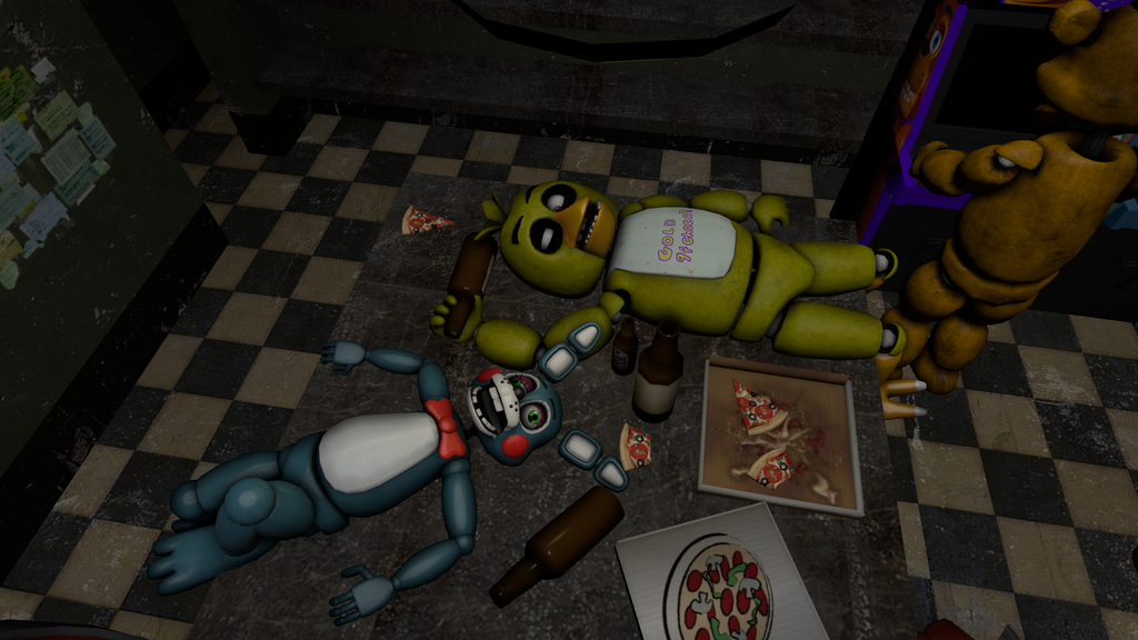 Dick drunk and chica