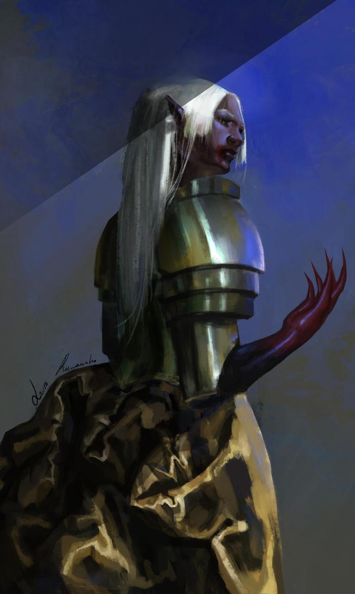 Nameless Vampire by OMGWTFisGoingON