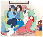 Fuuko, Marina and Shinku - Play time!