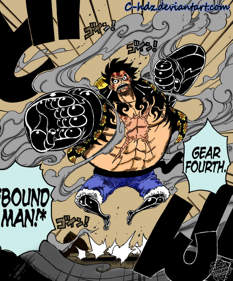 Gear 4 One Piece 784 By MavisHdz On DeviantArt