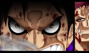 One Piece 894 - Snake Man - Luffy vs Katakuri (3) by MavisHdz
