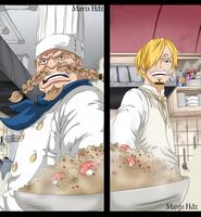 One Piece 902 - Zeff and Sanji by MavisHdz