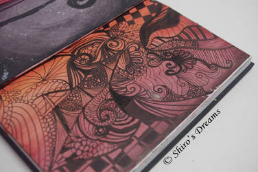 3 Day Zentangle Art Project - Complete by ShirosDreams
