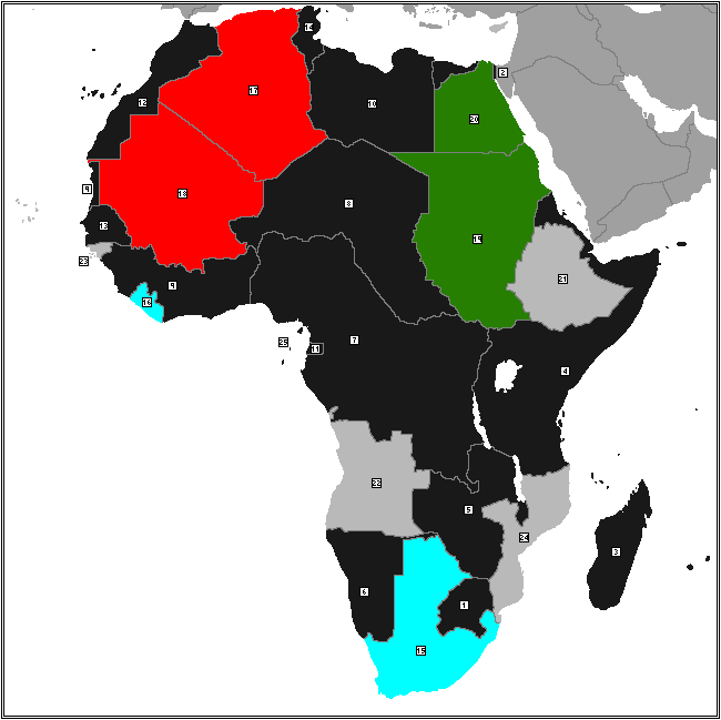 Map Of Africa 1939 Alt) Map of Africa (1939) by GrimBeans on DeviantArt
