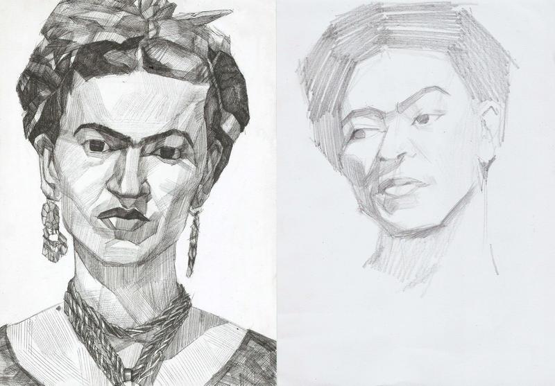 Frida Kahlo by megavoicer