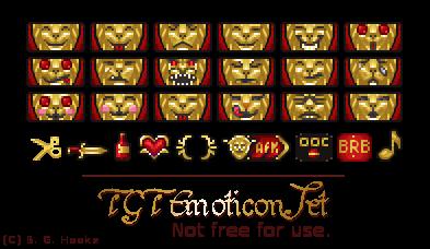 TGT Emoticon Set by Hooke