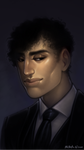 Bust: Painting - Haemon