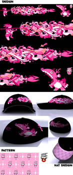 Rocket Chomp Hat Design