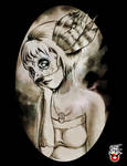 Owl Girl Sketch