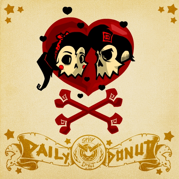 Rockabilly Wallpaper: Daily Donut: Rockabilly Love By SpicyDonut On DeviantArt