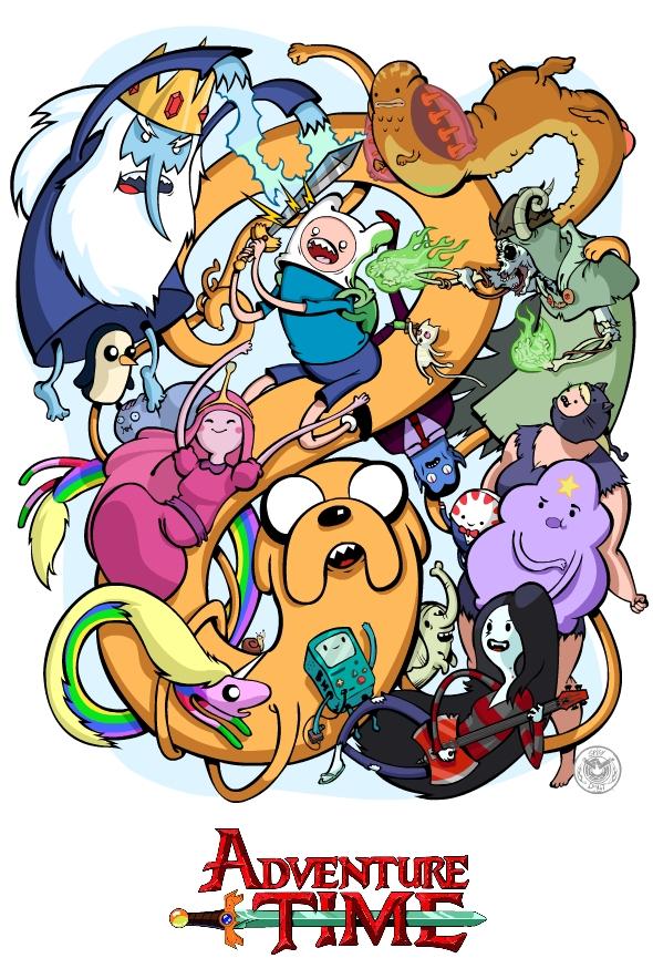все персонажи adventure time картинки