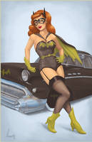 Batgirl Pinup by SpicyDonut