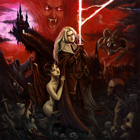 Castlevania: Symphony of the night! by SpicyDonut