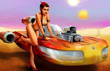 Hot Rod Leia