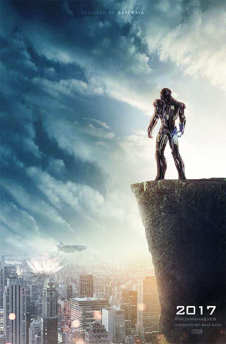 Iron Man 4 Poster by bakikayaa on DeviantArt