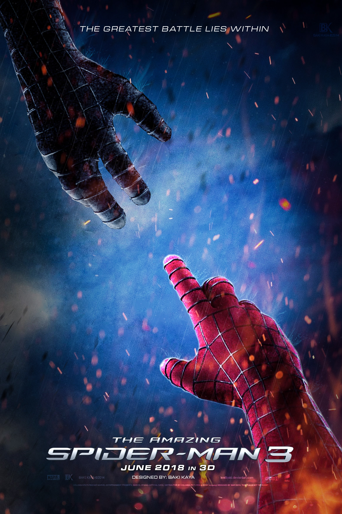 The Amazing Spider-Man 3 Poster by bakikayaa on DeviantArt