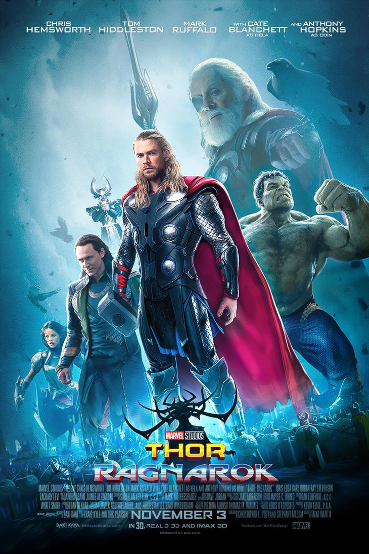 Bildergebnis für Thor: Ragnarok poster