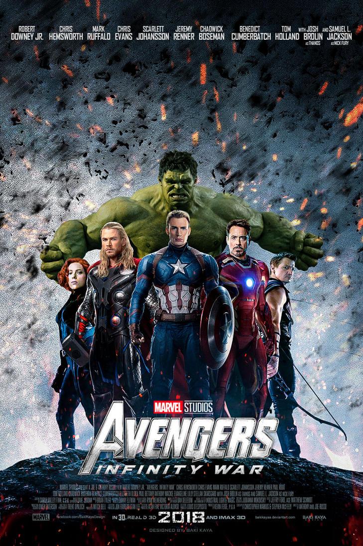 avengers: infinity war poster #2 by bakikayaa on deviantart