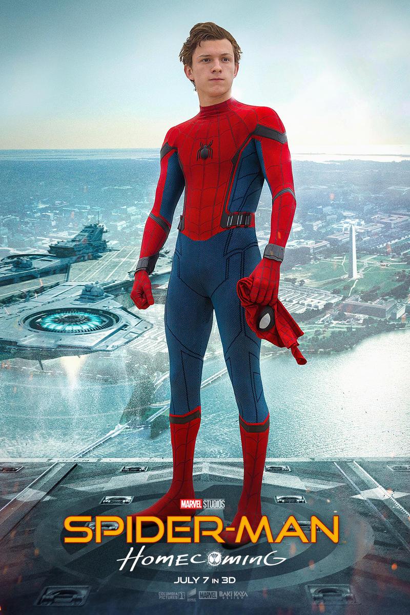 Spider-Man: Homecoming Poster #2 by bakikayaa on DeviantArt