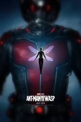 Ant-Man and the Wasp Poster by bakikayaa