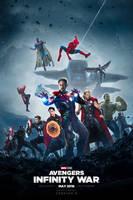 Avengers: Infinity War Poster #3 VERSION B