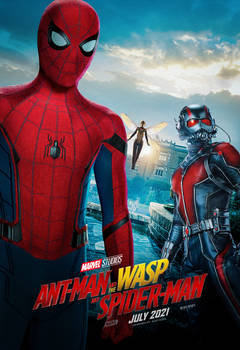 Ant-Man and the Wasp and Spider-Man (2021) Poster