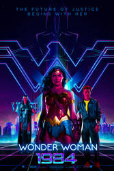 Wonder Woman 1984 (2019) Poster by bakikayaa